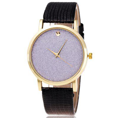 ZhouLianFa Women's Business Top Marcas Luxo Casual Moda Crocodile Padrão Ms. Quartz Watch