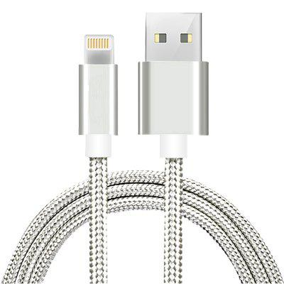 1m mobiele telefoon kabels USB Smart Charging Cable voor iPhone 7/7 Plus / 6S / 6 Plus / 5 / 5S