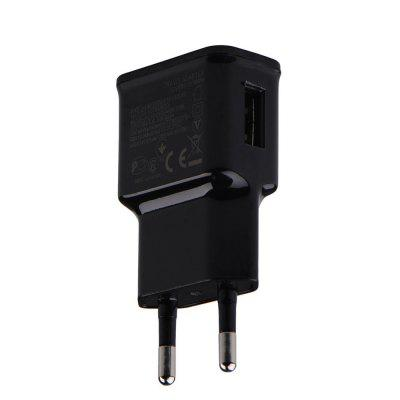 EU Plug Adapter 5V 2A USB Mobile Phone Wall Charger for Huawei / Xiaomi / LG / Sony