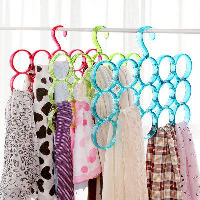 Circle scarf rack multi use clothes hanger scarf scarf tie rack
