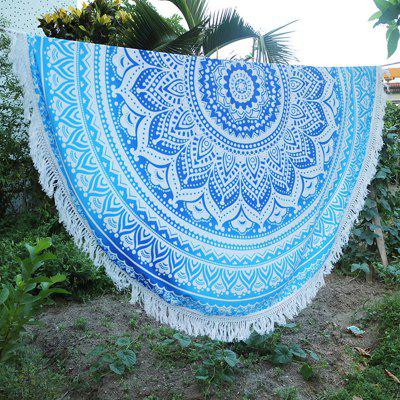 Circular Totems Tassels Beach TowelScarves<br>Circular Totems Tassels Beach Towel<br><br>Bra Style: Unlined<br>Elasticity: Micro-elastic<br>Gender: For Women<br>Material: Polyester<br>Package Contents: 1 x Beach towel<br>Pattern Type: Print<br>Support Type: Wire Free<br>Swimwear Type: Cover-Up<br>Waist: Natural<br>Weight: 0.2200kg<br>With Pad: No