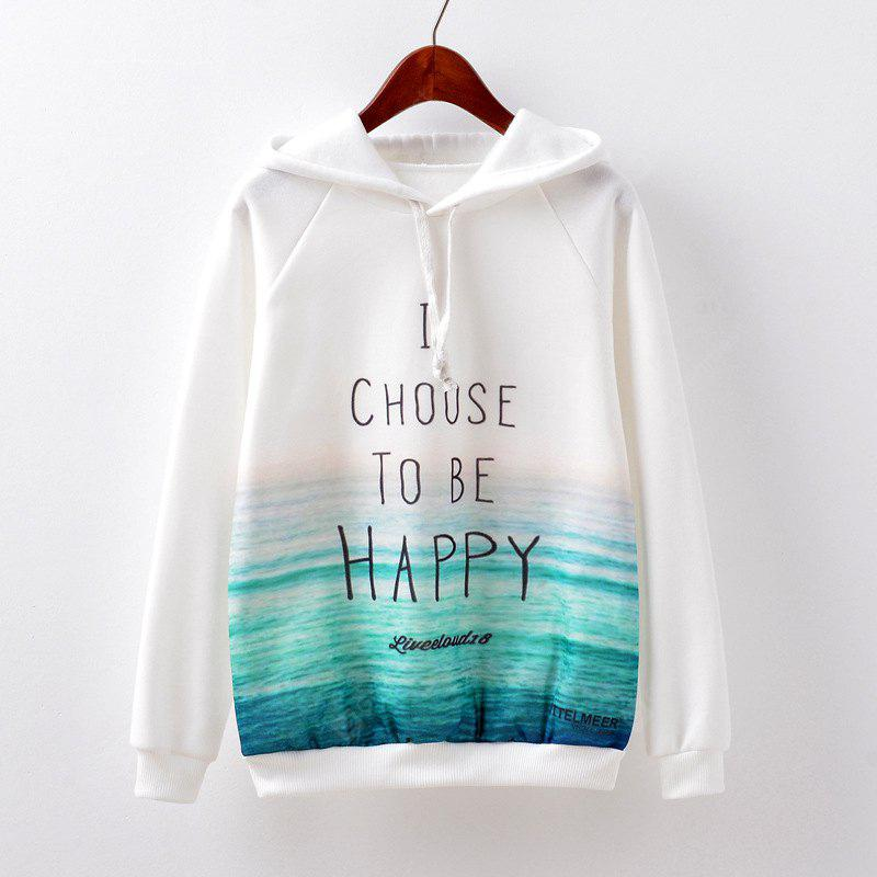 New Fashion Autumn and Winter Women Girl Ladies Long Sleeve Graphic Digital Printed Sportwear Loose Hooded Hoodies Casual Sport Pullover Sweatshirt Outerwear Blouse Tops ZT-G533 Letters Printing