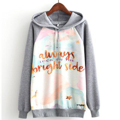 New Arrivals Autumn Winter Women Fashion Long Sleeve Sweatshirt Harajuku Digital Letters Print Hooded Hoodies Ladies Tracksuit Jumper Pullover Sweats Outwear Plus Size