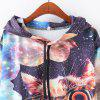 New Fashion Autumn and Winter Women Girl Ladies Long Sleeve Graphic Digital Printed Pocket Sportwear Loose Hooded Hoodies Casual Hip Hop Sport Pullover Sweatshirt Outerwear Blouse Tops ZT-G652 Smoking - AS THE PICTURE