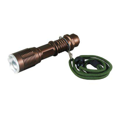 BA6774 Cree Led  Ultra Bright Flashlight with Adjustable Focus and Five Modes for Camping Hiking Emergency