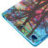 Color Tree Painting Ultrathin Luxury Leather Case for iPad Mini 1 / 2 / 3 / 4 Tablet PC Cover Case - COLORMIX
