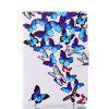 Butterflies Painting Ultrathin Luxury Leather Case for iPad Mini 1 / 2 / 3 / 4 Tablet PC Cover Case - COLORMIX