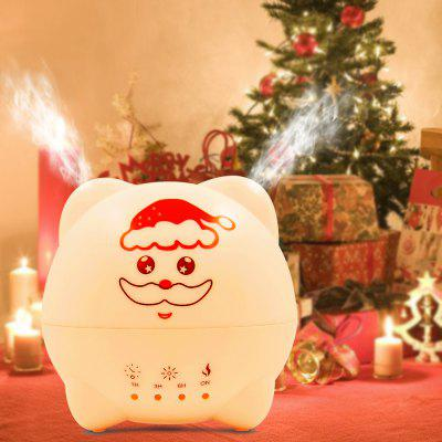Buy WHITE AU 7 Color Light Bulb Cartoon Aromatherapy Humidifier Essential Oil Diffuser Aroma Diffuser Christmas Gift for $24.53 in GearBest store