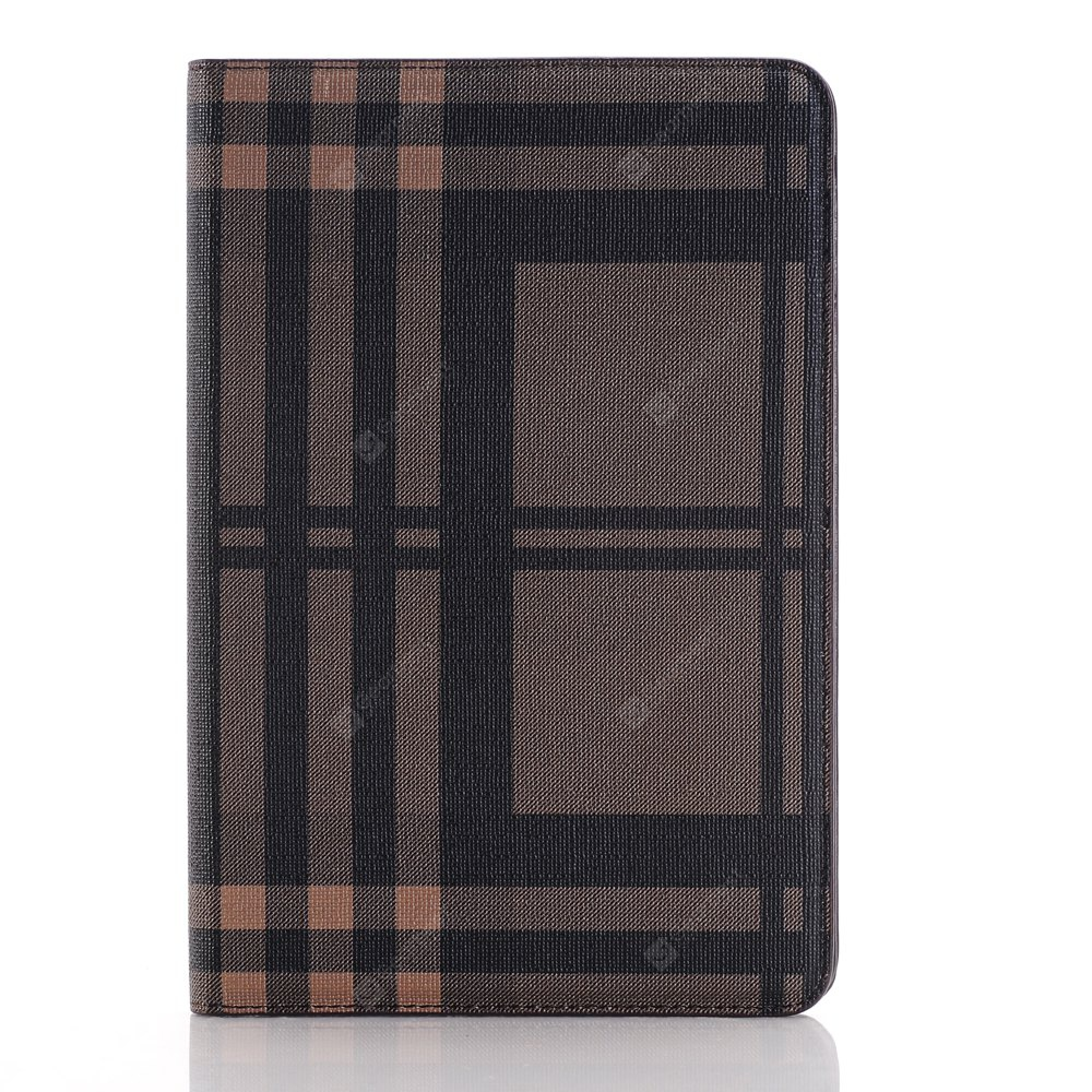 Moda Grid Plaid Skin Luxo Tablet PC Back Case para iPad Pro 9.7 polegadas Smart Cover Wallet PU Leather Case