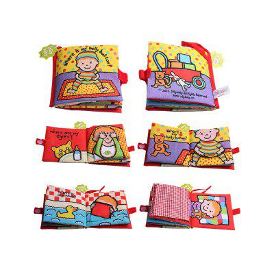 Cloth Book early Education WisdomOther Educational Toys<br>Cloth Book early Education Wisdom<br><br>Gender: Unisex<br>Materials: Cloth<br>Package Contents: 1 x Cloth book<br>Package size: 15.00 x 10.00 x 5.00 cm / 5.91 x 3.94 x 1.97 inches<br>Package weight: 0.0750 kg<br>Suitable Age: Over 18 months old