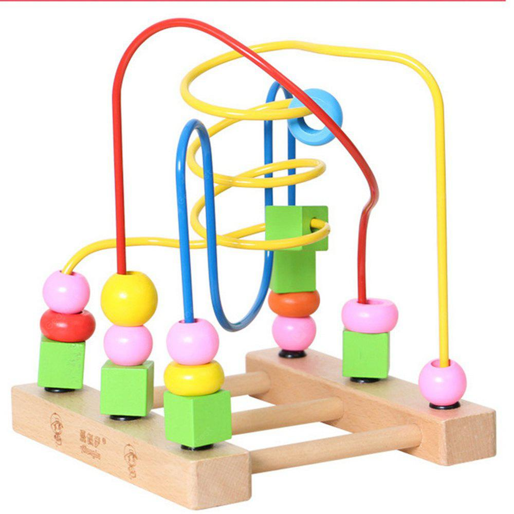 Wooden Children Beaded Toys for Early Childhood Toys to Learn the Color of educational Toys