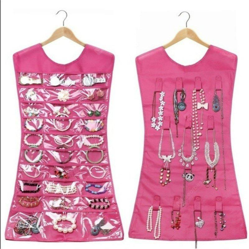 Large Jewelry Holder Necklace Bracelet Earring Ring Pouch Organizer Bag Jewelry Display Bags