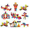 Children Early Childhood Education Mane Building Blocks One Hundred and Eight Set - COLORMIX