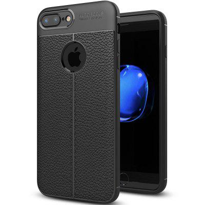 Lichee PU + TPU Capa para iPhone 7 Plus / 8 Plus