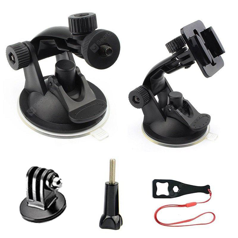 Car Suction Cup Mount for GoPro Hero5 / 4 / 3+ / 3 / 2 / 1 Black Silver