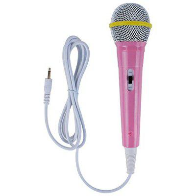 Children Wired Microphone Mic Karaoke Singing Kid Funny Gift Music Toy