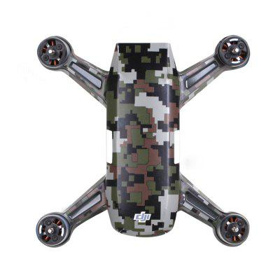 Waterproof PVC Stickers Aircraft Remote Controller Battery Skin for DJI SPARK