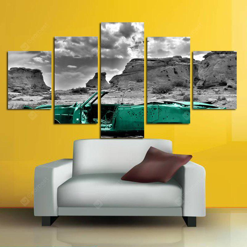 Modern Frameless HD Canvas Prints for Home Wall Decal 5pcs