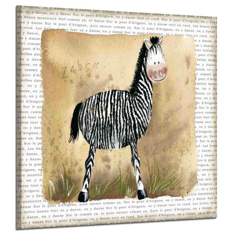 Restro Frameless Animal Canvas Print for Home Decoration