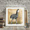 Restro Frameless Animal Canvas Print for Home Decoration - COLORFUL