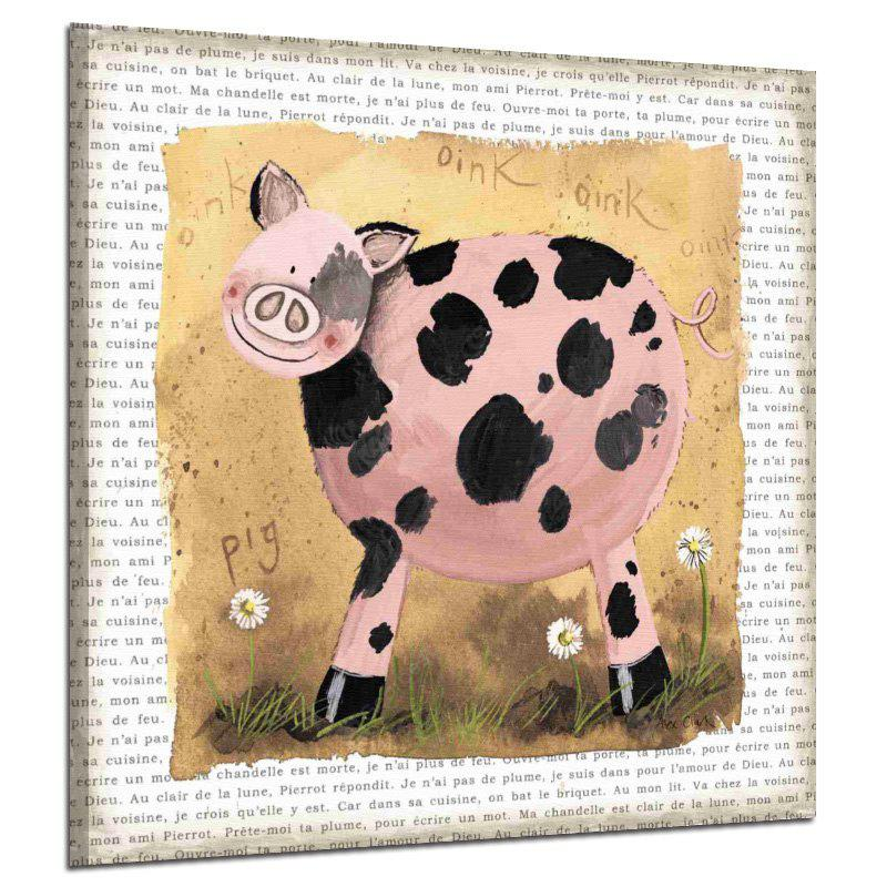 Restro Frameless Animal Canvas HD Print for Home Decoration