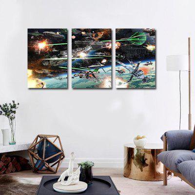 Creative HD Canvas Art Prints Frameless Home Wall Decoration 3pcs