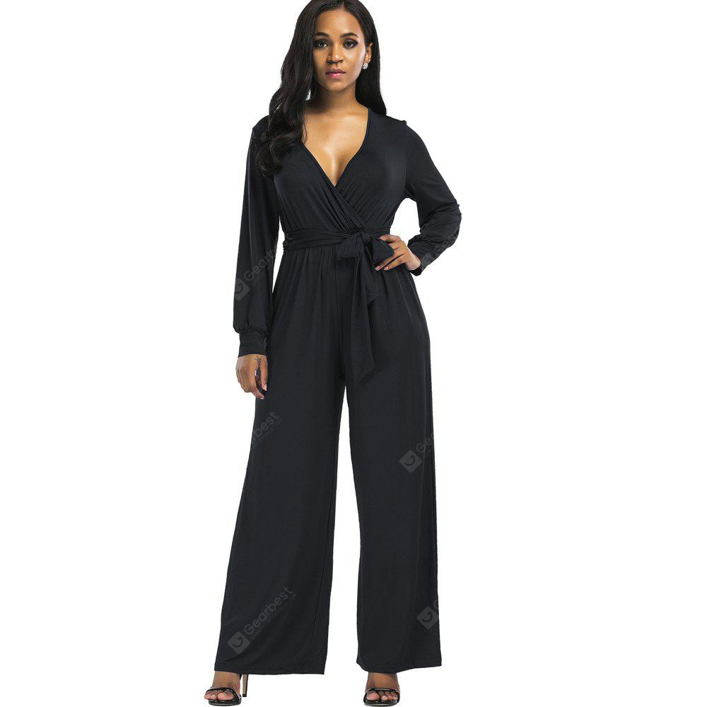 2017 New Fashion V-Neck Casual Jumpsuit