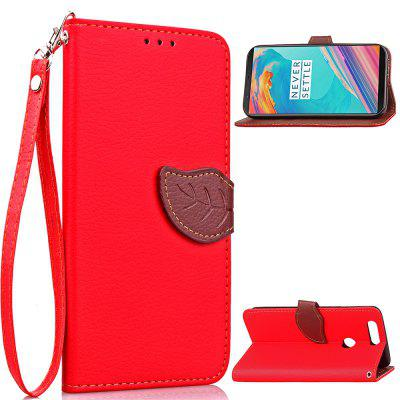 Leather Phone Cover Case for OnePlus 5T