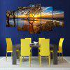 YSDAFEN 5 Panel Wall Art Canvas Painting Pictures Home Decor Living Room - COLORMIX