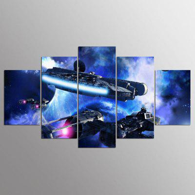 YSDAFEN HD Print 5 Pieces Home Decor Canvas Picture