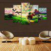 YSDAFEN 5 Pieces Modern Home Wall Decor Canvas Picture - COLORMIX