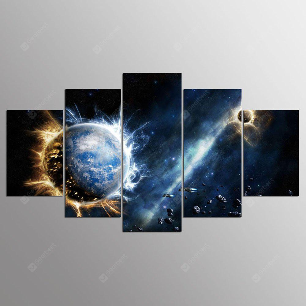 YSDAFEN 5 Panel Sale Rushed Splendid Space Canvas Picture Living Room