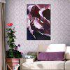 Hua Tuo HT - 1657 Abstract Flower Style Oil Painting - PURPLE