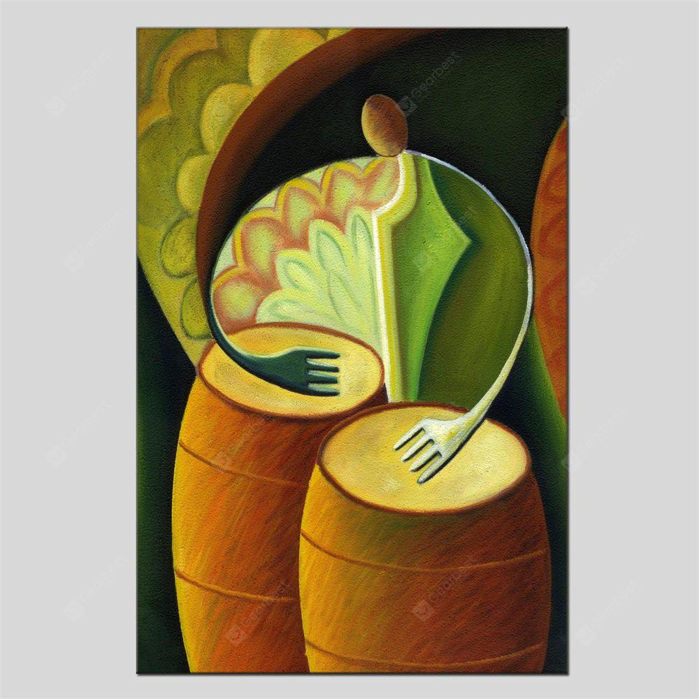 Hua Tuo Portrait Musical Instrument Oil Painting Size 60 x 90CM HT-1658