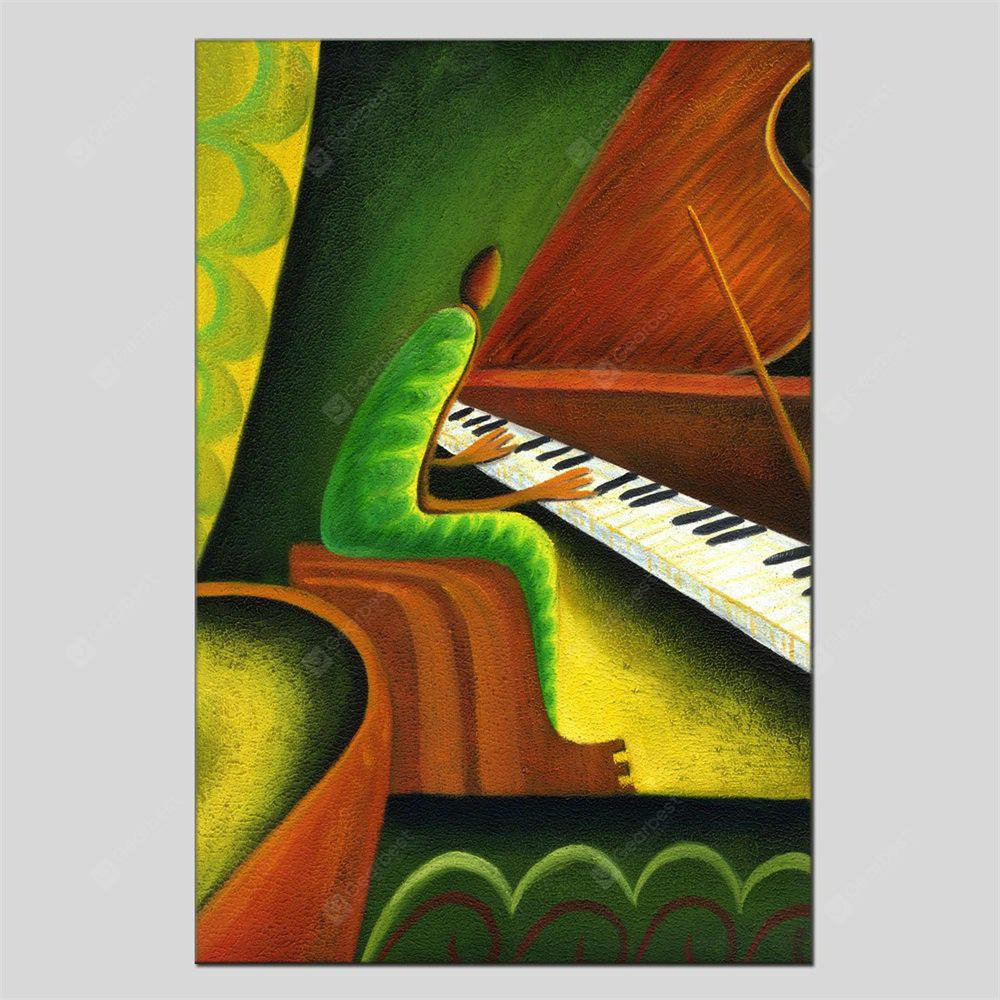 Hua Tuo Portrait Musical Instrument Oil Painting Size 60 x 90CM HT-1659