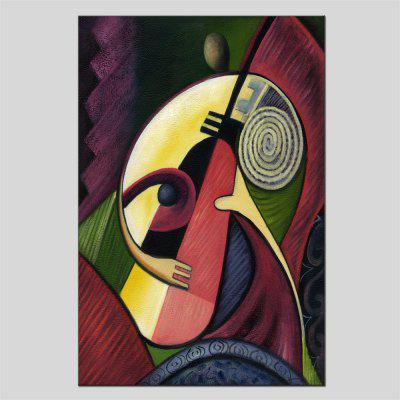 Hua Tuo Portrait Musical Instrument Oil Painting Size 60 x 90CM HT-1660
