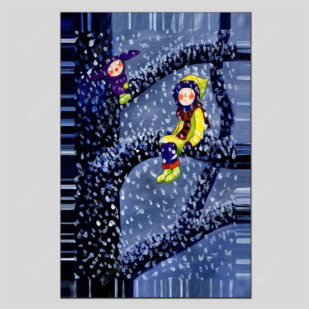 Hua Tuo Watch The Moon Oil Painting Size 60 x 90CM HT-1662