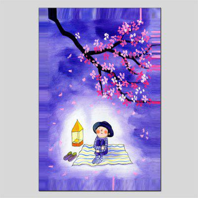 Hua Tuo Watch The Moon Oil Painting Size 60 x 90CM HT-1663
