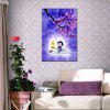 Hua Tuo Watch The Moon Oil Painting Size 60 x 90CM HT-1663 - PURPLE