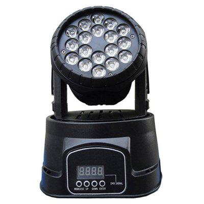 18 LEDs Wash Moving Head Stage Light