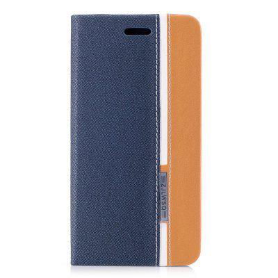 British Style Stripe Design Flip PU Leather Case for Xiaomi Redmi 5A