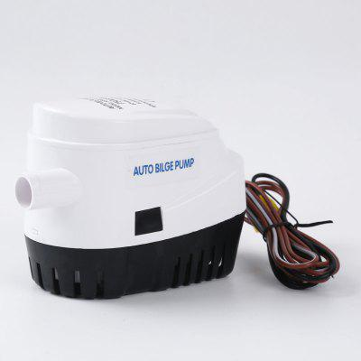 New DC 12v 750GPH Automatic Submersible Boat Bilge Pump With Float Switch