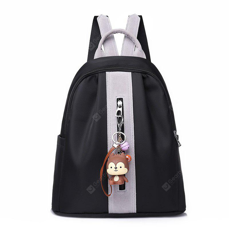 Mochila de nylon coreana All-match
