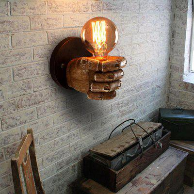 Industrial Wall Light Fixture Resin Retro Wall Lamps for House Bar Restaurants Coffee Shop Club Decoration