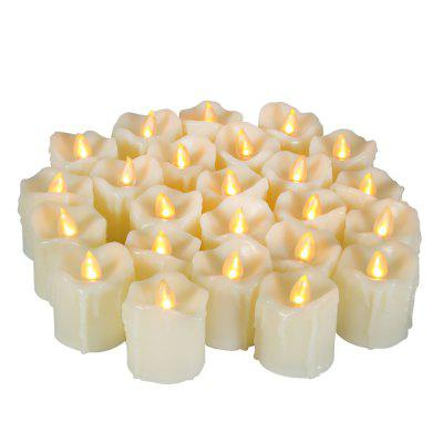 Set di 6 pezzi LED Big Votive con timer