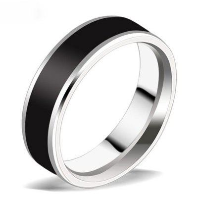 Titanium Gangsters Couple Fashion Ring Wild Jewelry
