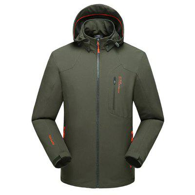 Plus Size Super Waterproof Quickly Dry Outdoor Climbing Anti Wind Jacket for Men