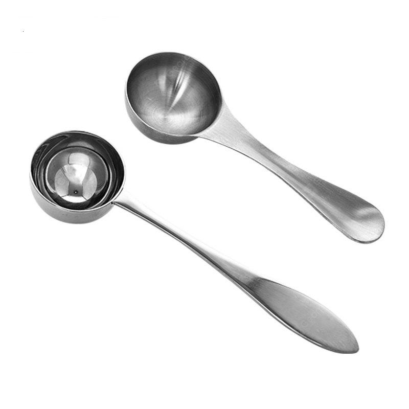 Stainless Steel Home Kitchen Tea Coffee Stirring Measuring Scoop Spoon