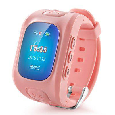 D5 Children Smart Watch Kid GPS Locator Tracker Anti-Lost Smartwatch Phone SOS Voice Monitor Watch For Android IOS