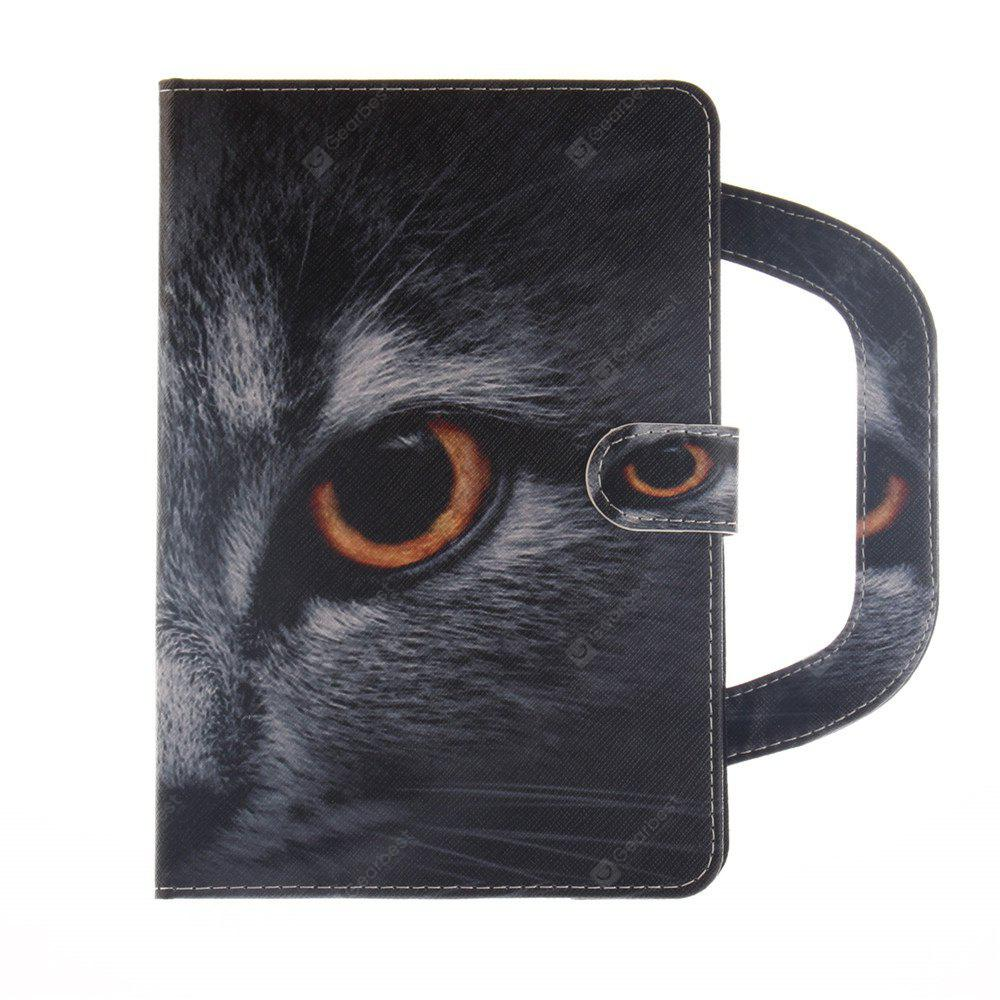 Leather Protective Case Wolf Pattern with A Hand for iPad  5